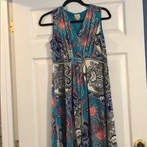 Chico's summer paisley dress